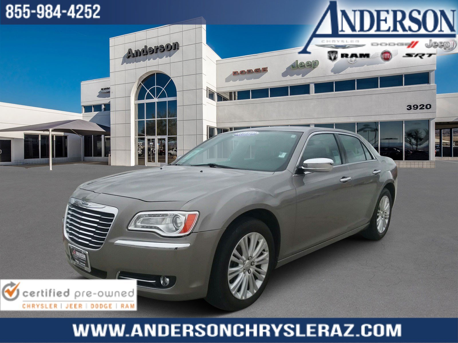 Pre-Owned 2014 Chrysler 300C Base